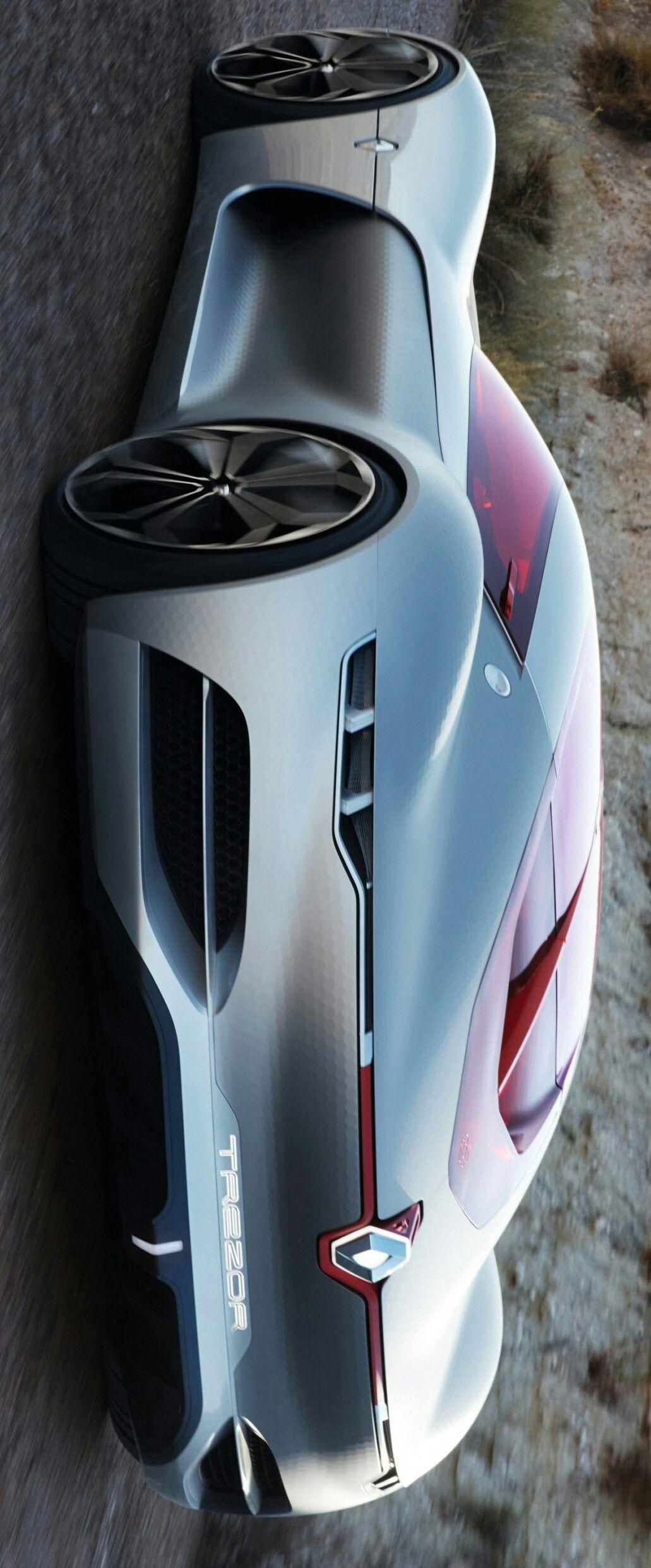 2016 Renault Trezor Concept By Levon Sports Cars Luxury Car Super Cars