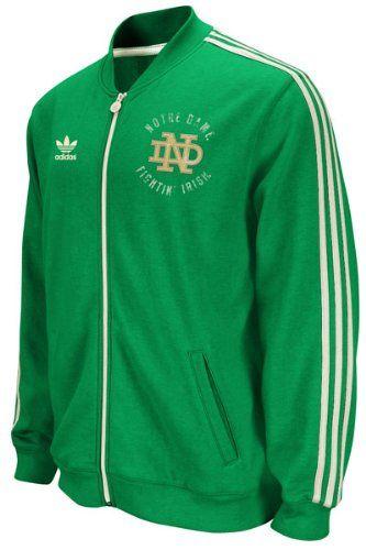 ed29b5d6f4 Notre Dame Fighting Irish Track Jackets | Cool Notre Dame Fan Gear ...