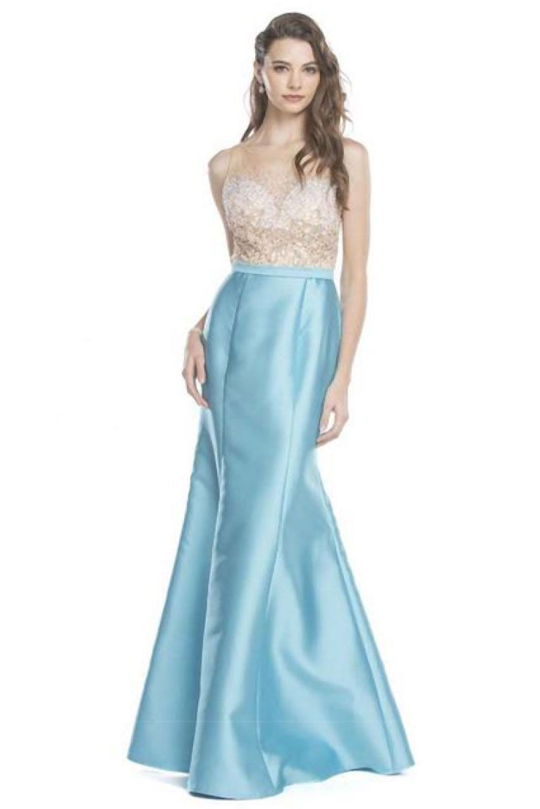 Trumped Long Prom Gown APL1650 Trumpet Shape Floor Length Prom and ...