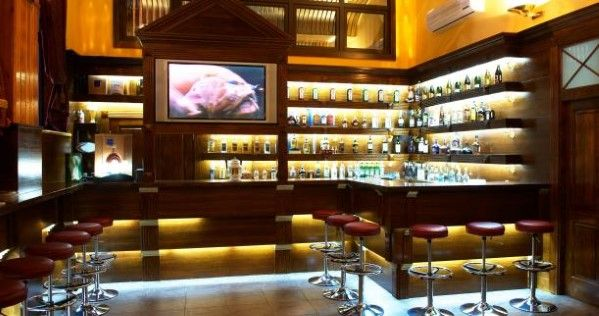 Top 40 Best Home Bar Designs And Ideas For Men | Bar, Lights and House