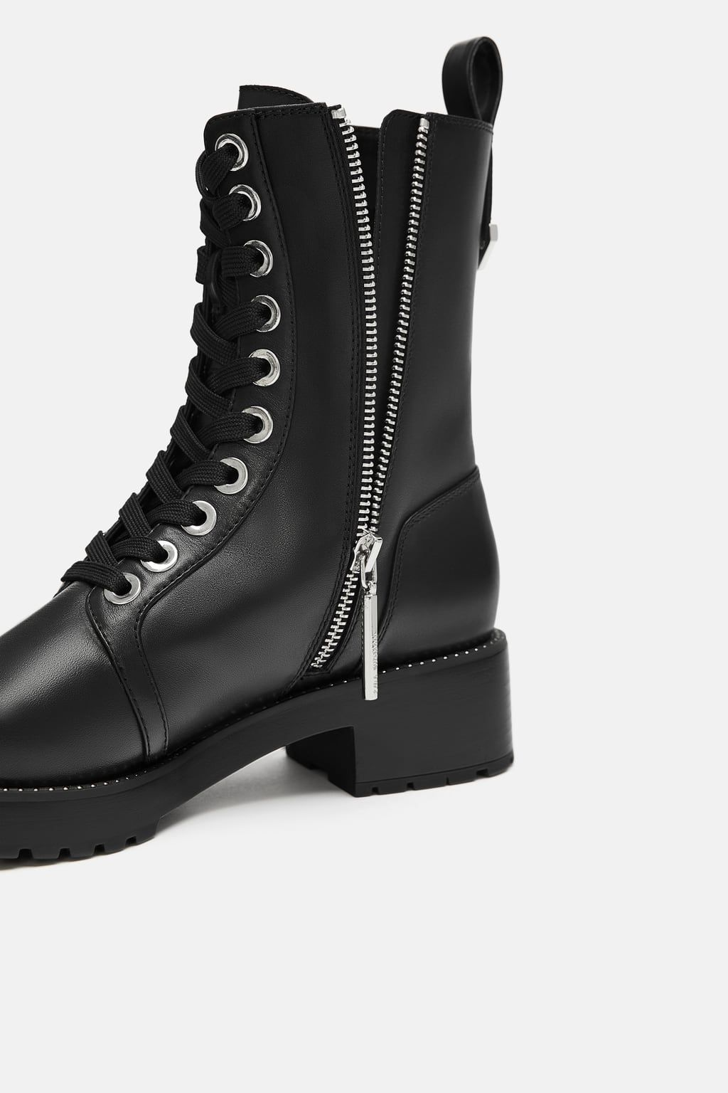 df5d6284d54 Micro studded leather biker ankle boots | My Style Shoes | Studded ...