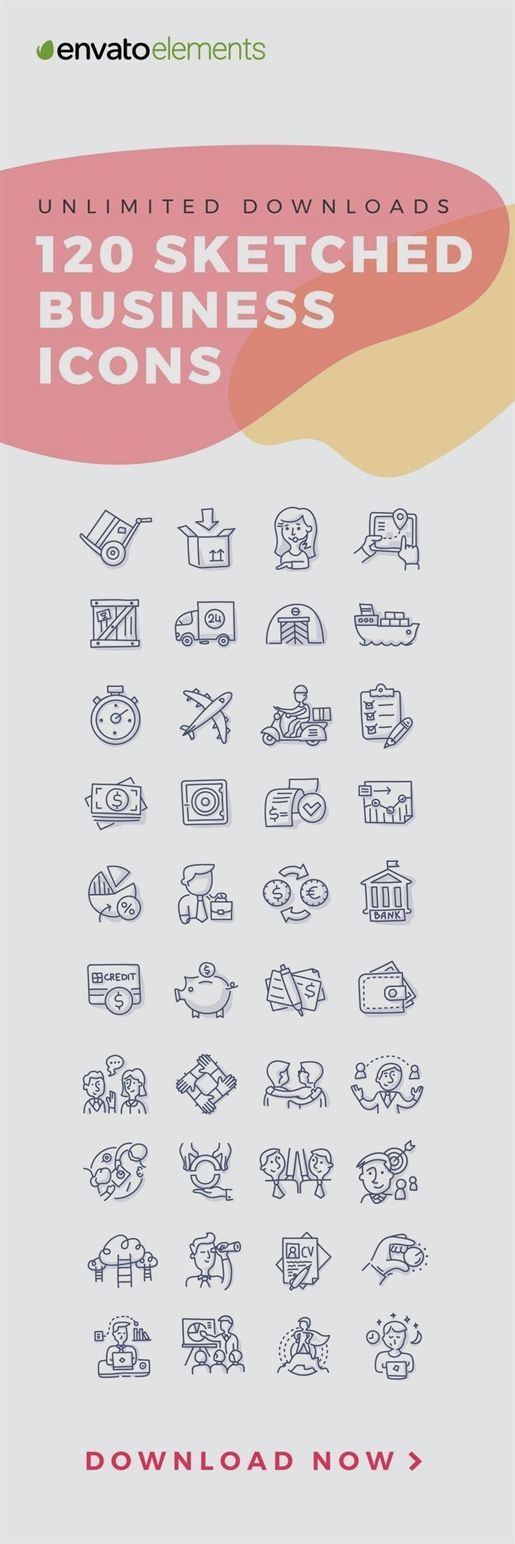 Envatounlimited Downloads Of 2019 S Best Icon Designs Best Icons Business Icon Icon Design