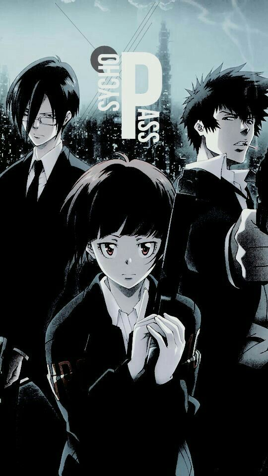 Pin By Tamara On Psycho Pass Psycho Pass Anime Wallpaper