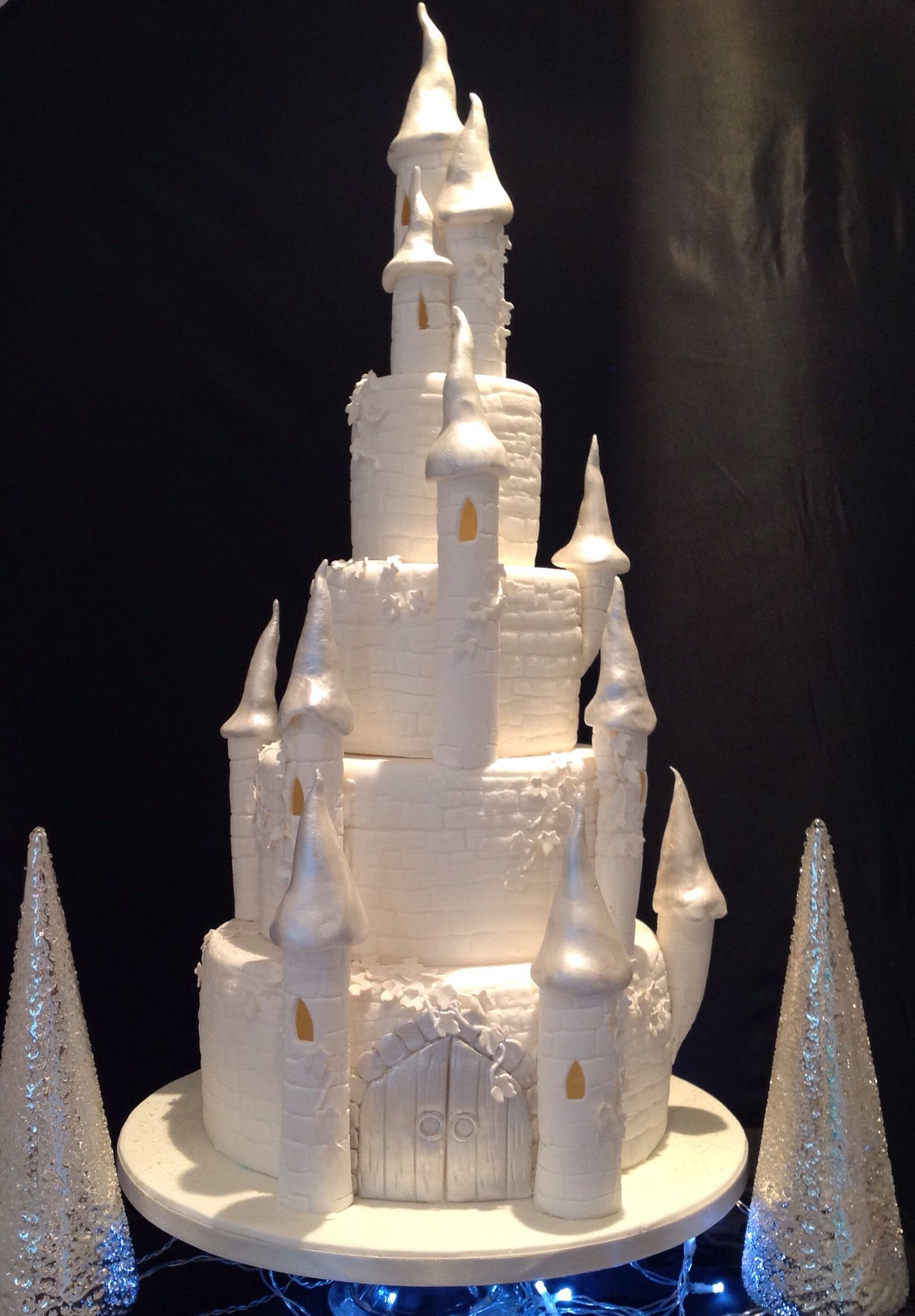 Fairytale Castle Wedding Cake