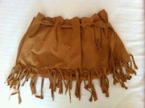 DIY Pocahontas Costume For Sophia