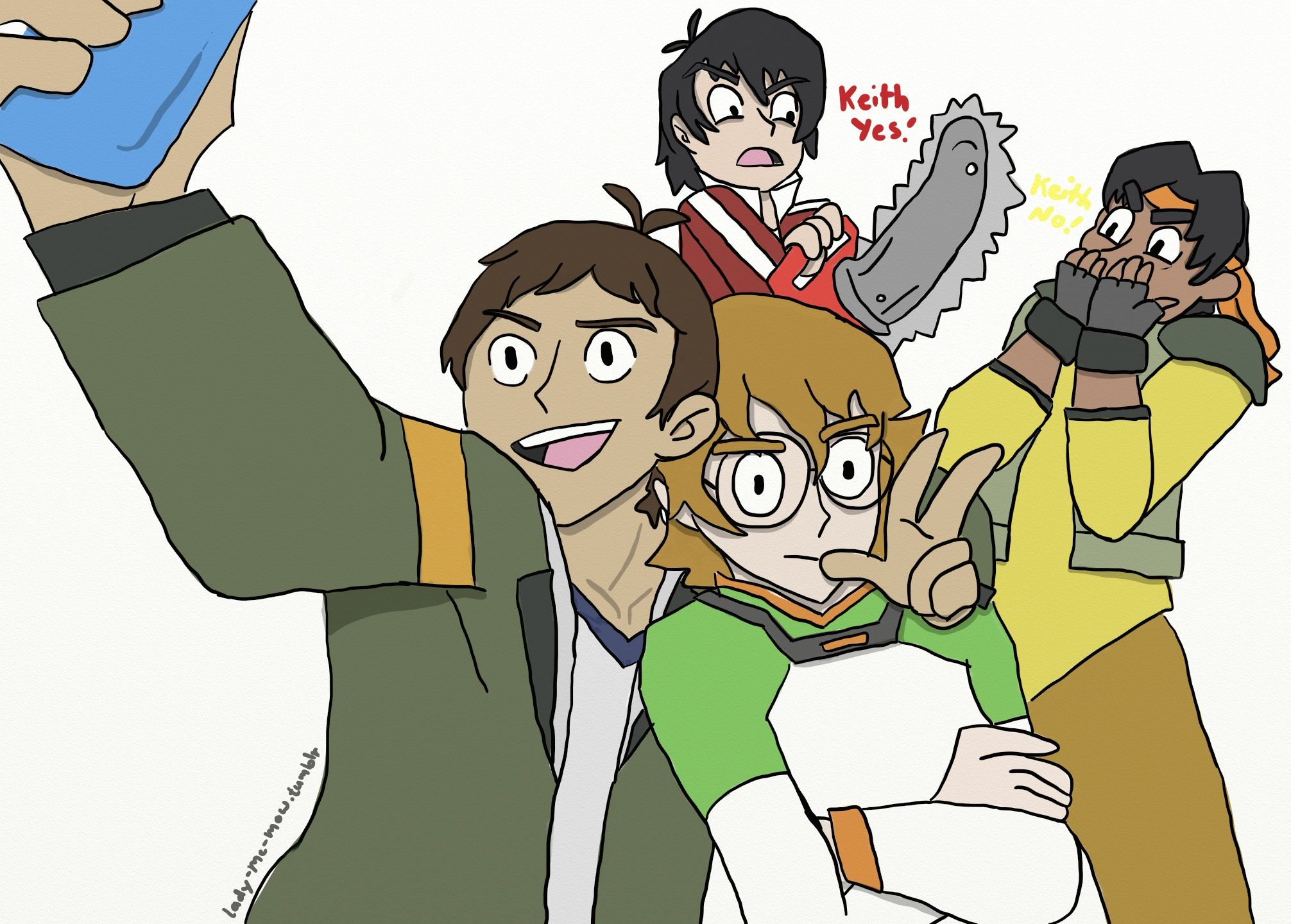 Draw Your Squad, Voltron Legendary Defenders