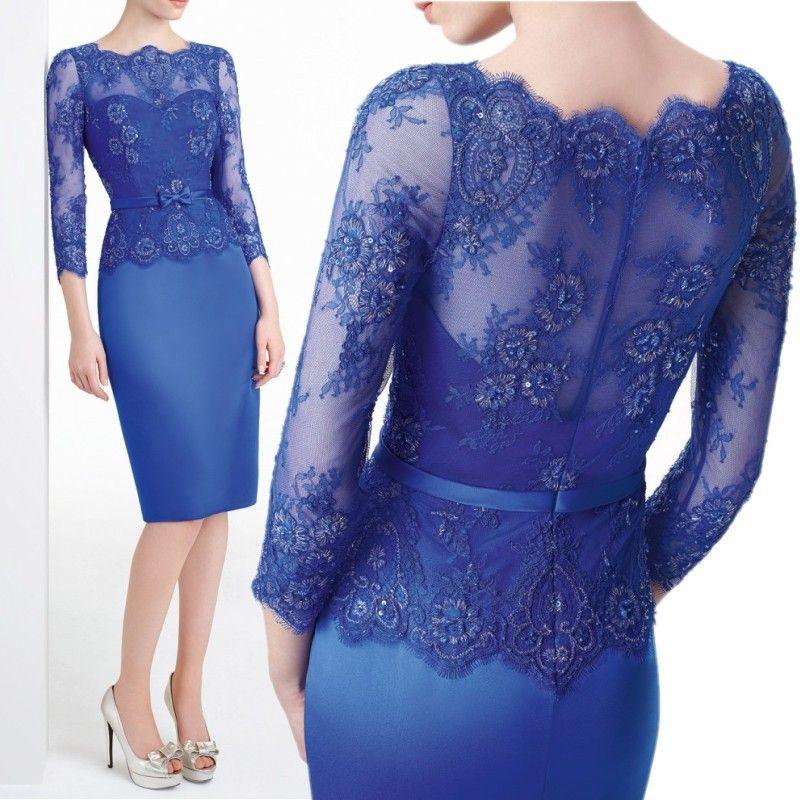 Pas cher nouveau mariage l gant parti robe bleu royal for Fournisseurs de robe de mariage en gros