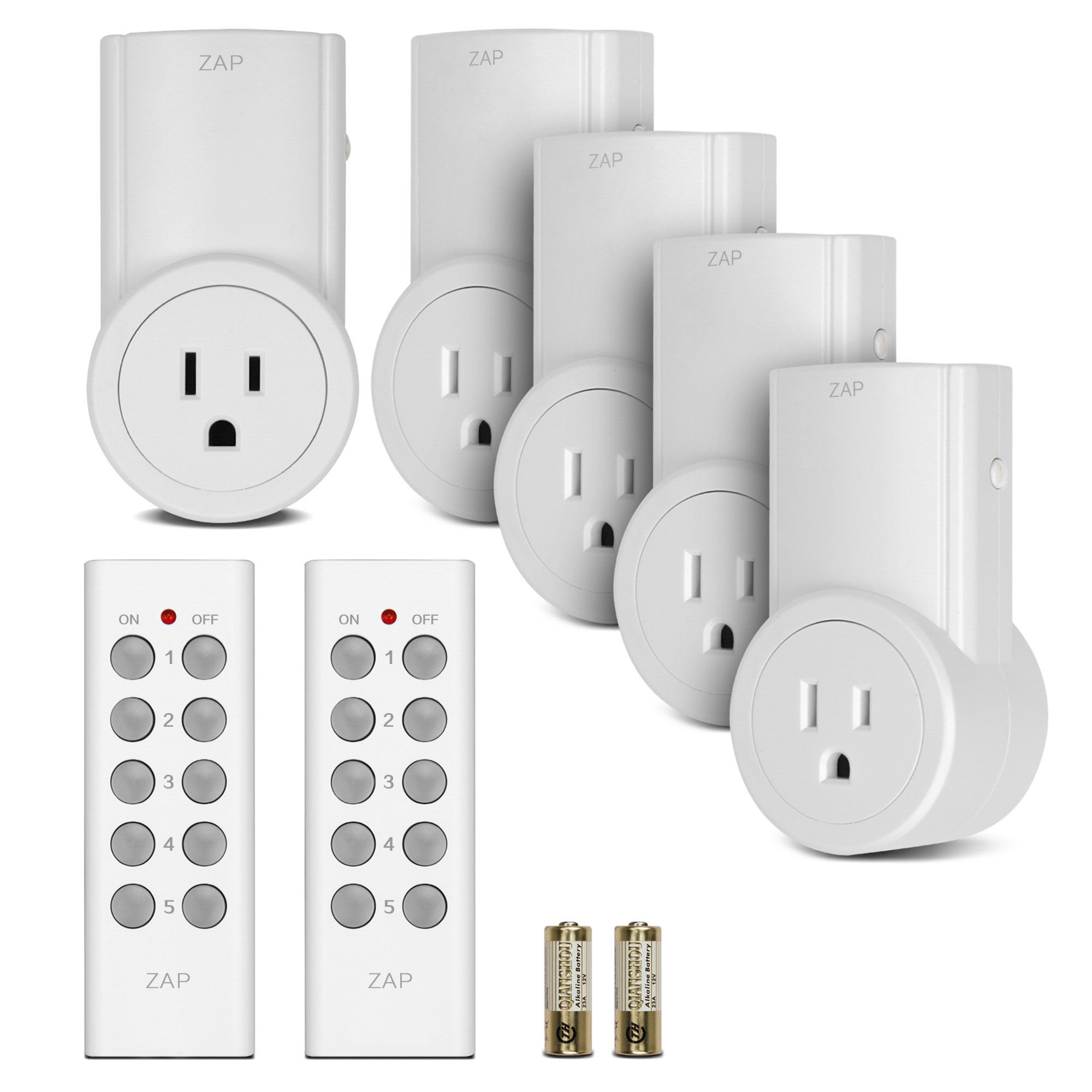 Etekcity Programmable Wireless Remote Control Electrical Outlet ...