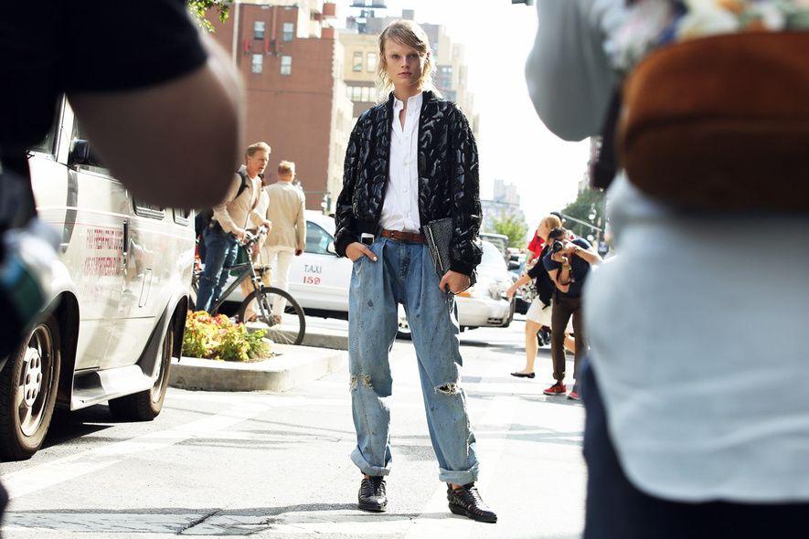 Street Style- New York Fashion Week Spring 2014