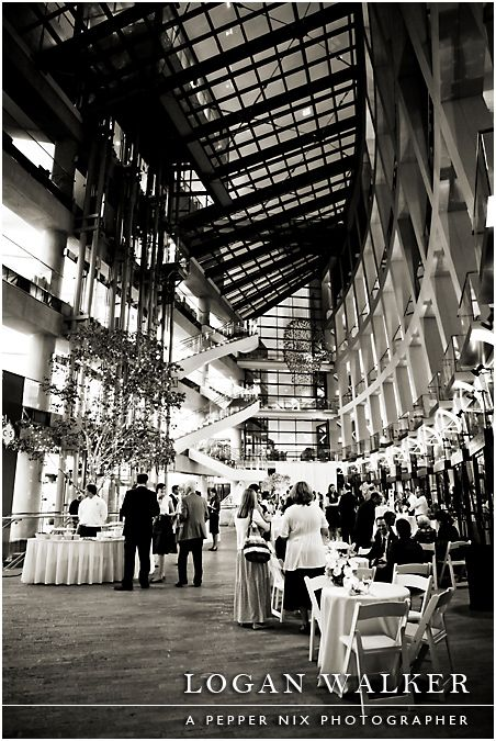 Wedding Reception At The Salt Lake City Library