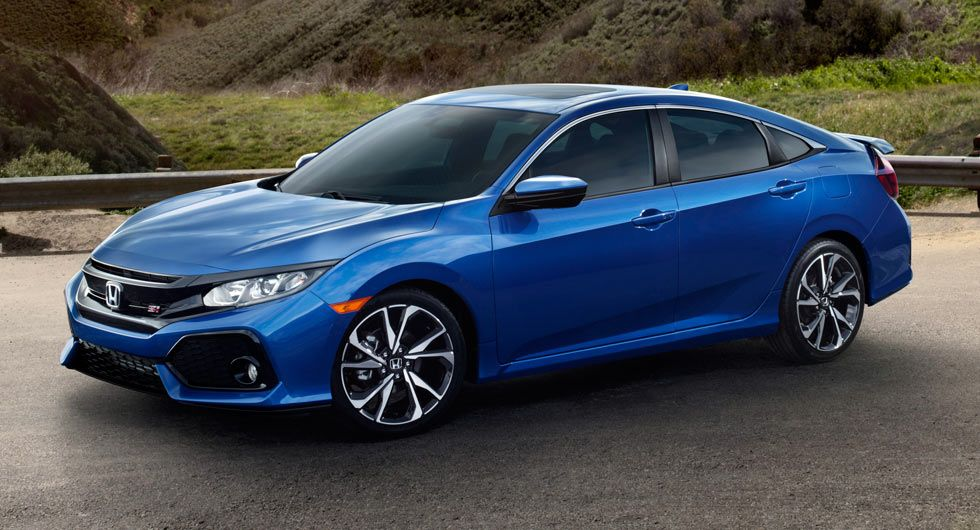 2018 Honda Civic Si Sedan & Coupe Coming With A 205HP 1.5L