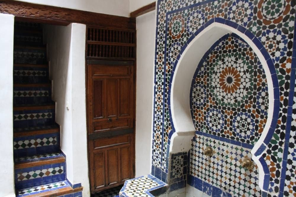 traditional moroccan house in the heart of vrbo. Black Bedroom Furniture Sets. Home Design Ideas