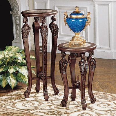 Design Toscano Four Caryatids End Table