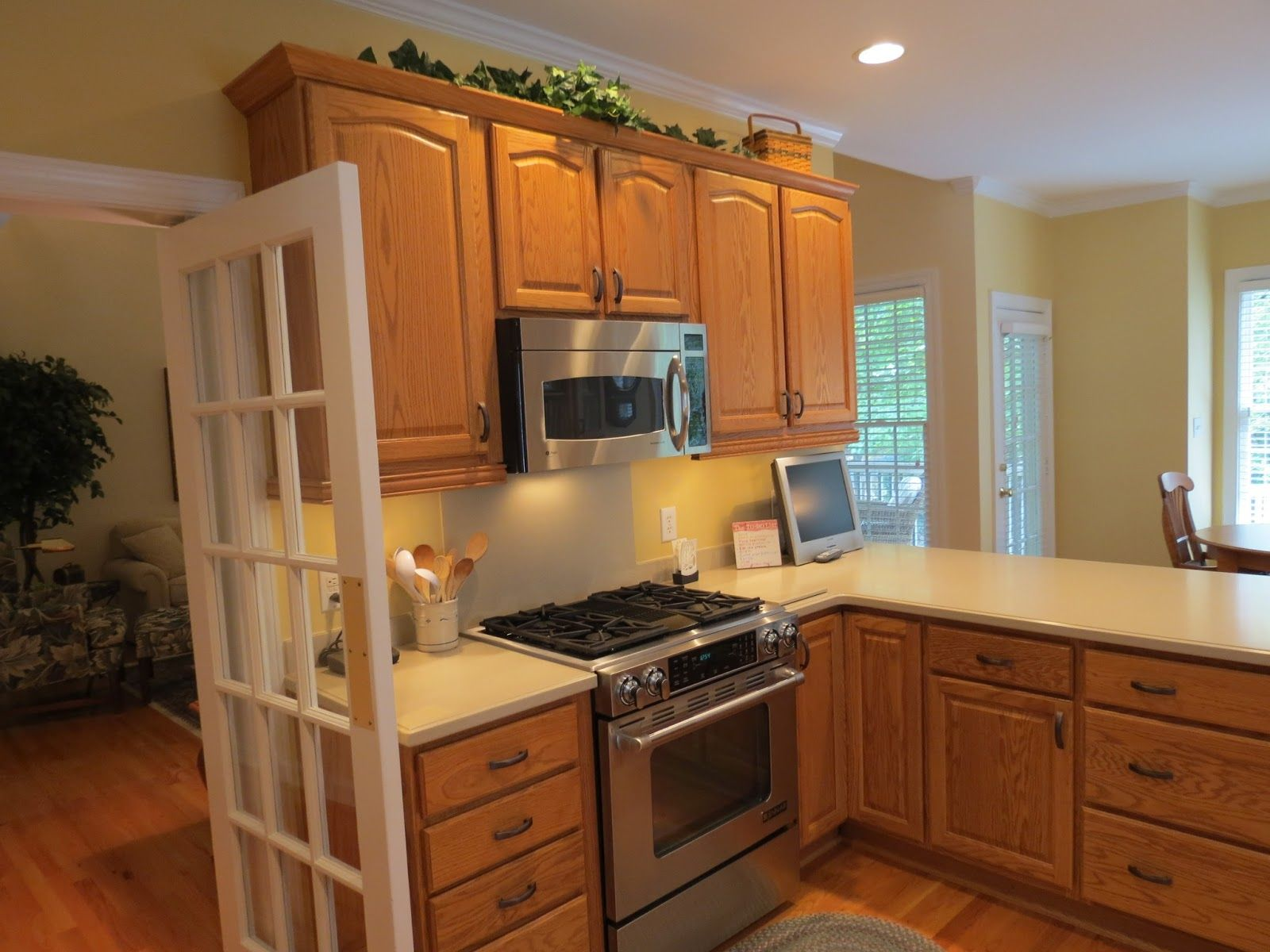 color ideas for kitchens with oak cabinets | http://sinhvienthienan