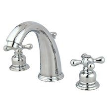 View the Kingston Brass KB98.AX Vintage Widespread Bathroom Faucet with Pop-Up Drain Assembly and Metal Cross Handles at Build.com.