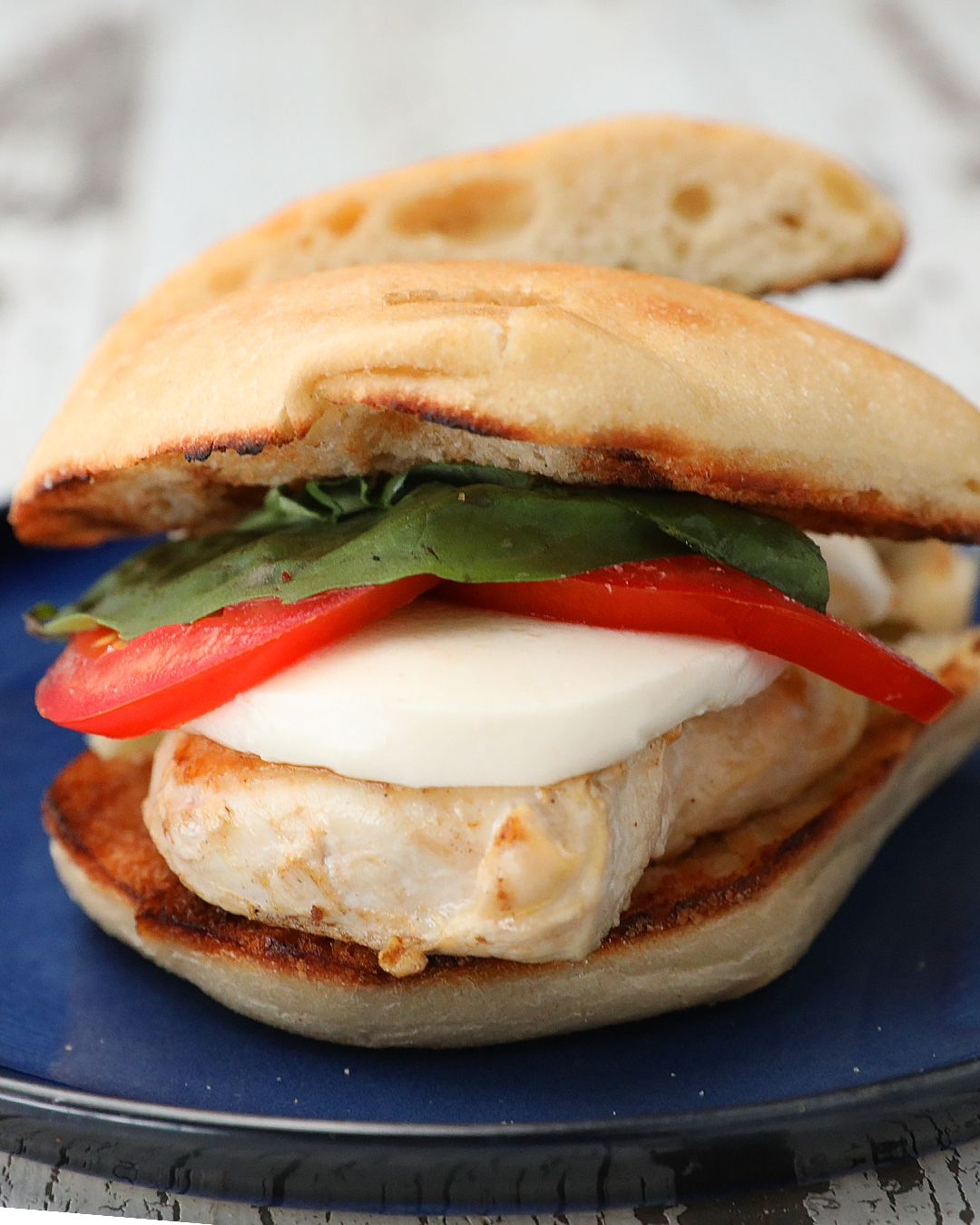 Grilled Chicken Caprese Sandwich Food, Healthy eating