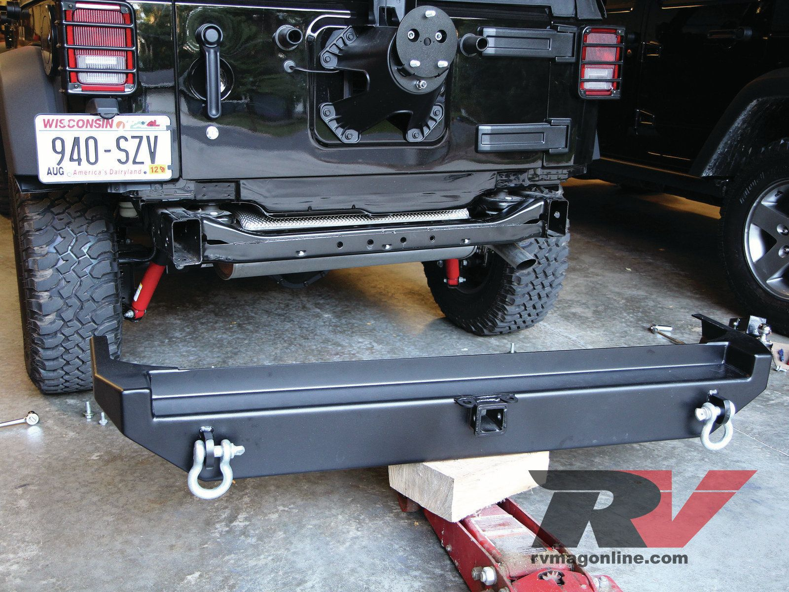 Tweaking An Icon Upgrading Our Jeep Wrangler Unlimited Rv