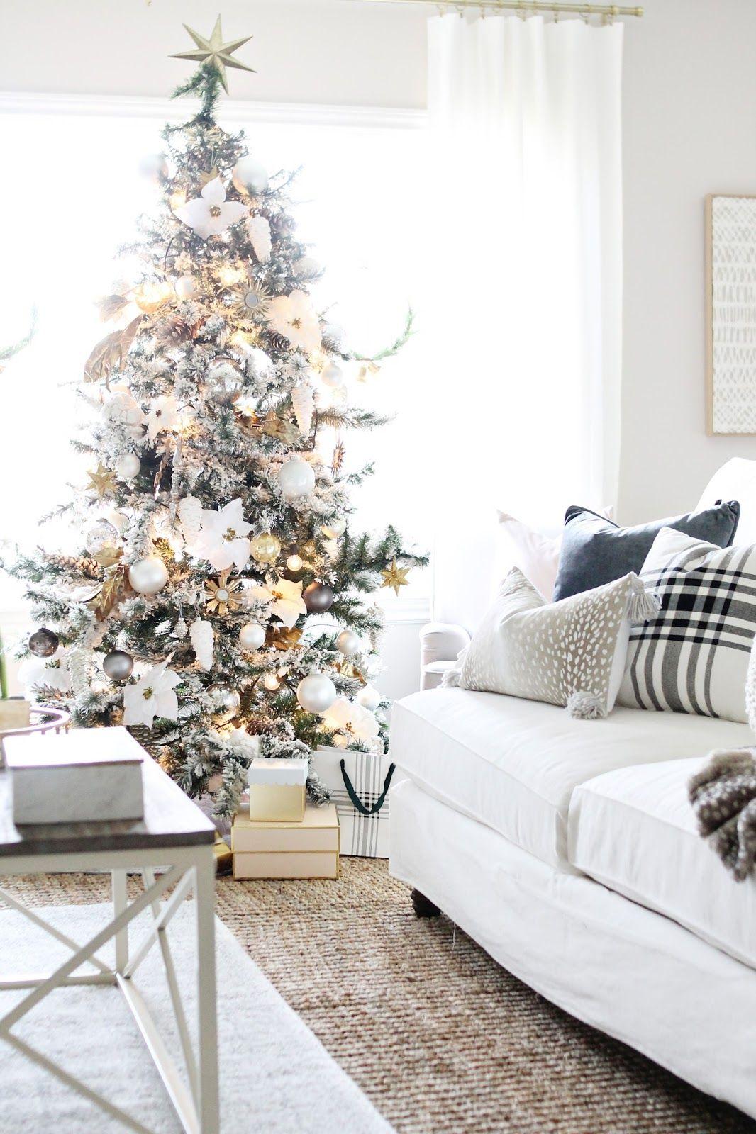 Christmas Home Tour 2017 | Holidays, Christmas decor and Blog
