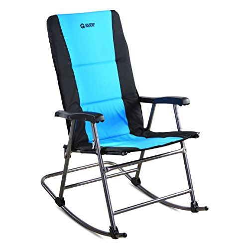 Astonishing Guide Gear Oversized Rocking Camp Chair 500 Lb Capacity Andrewgaddart Wooden Chair Designs For Living Room Andrewgaddartcom