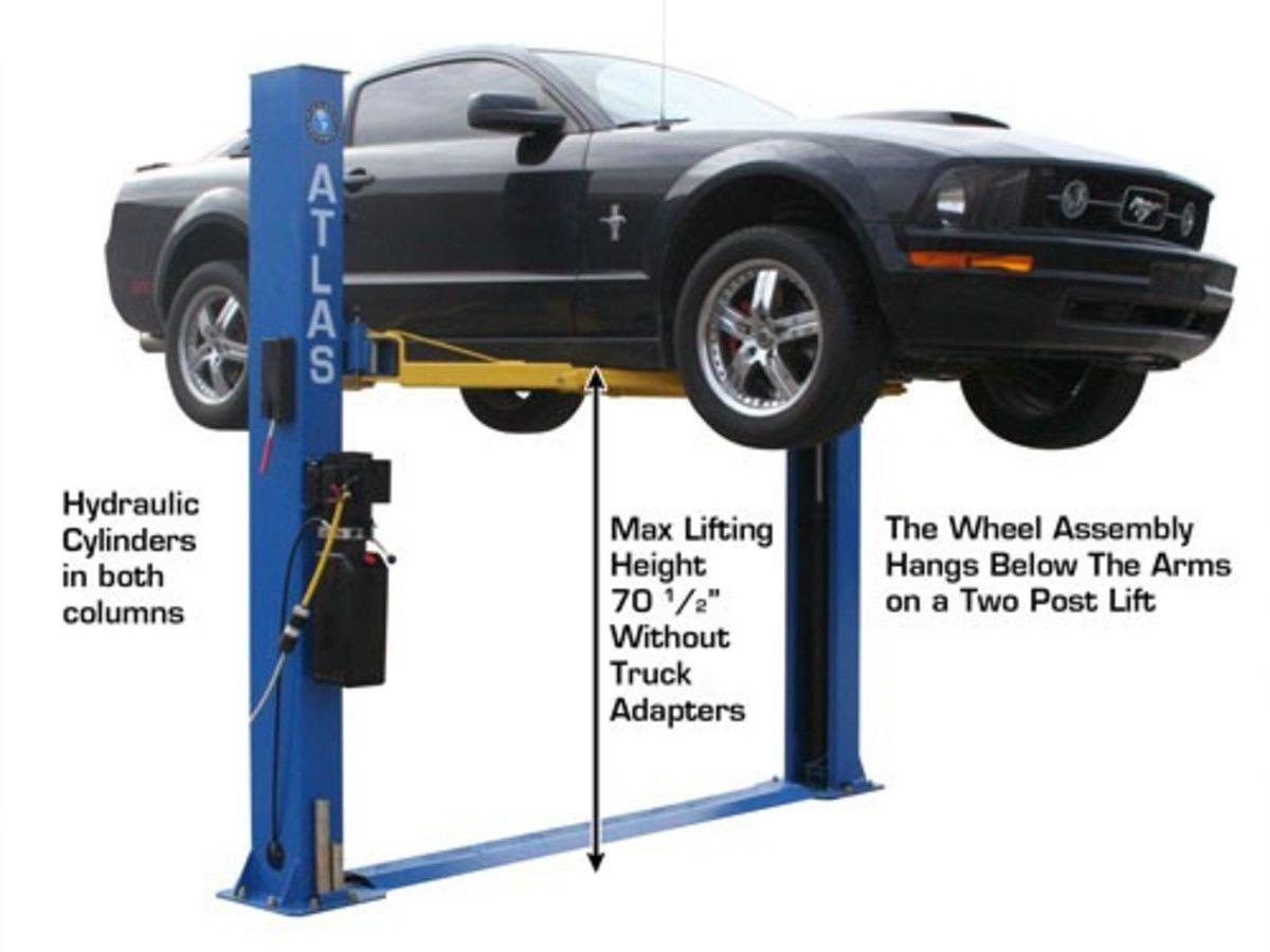 Atlas Bp8000 Baseplate 8 000 Lbs Capacity 2 Post Lift Car Lifts Backyard Backyard Playground
