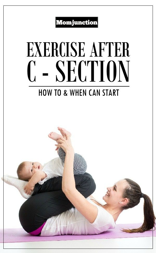 When Can You Start Doing Exercises After C-Section ...