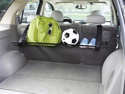 minivan or suv back seat cargo storage shelf organize the car too rh pinterest com