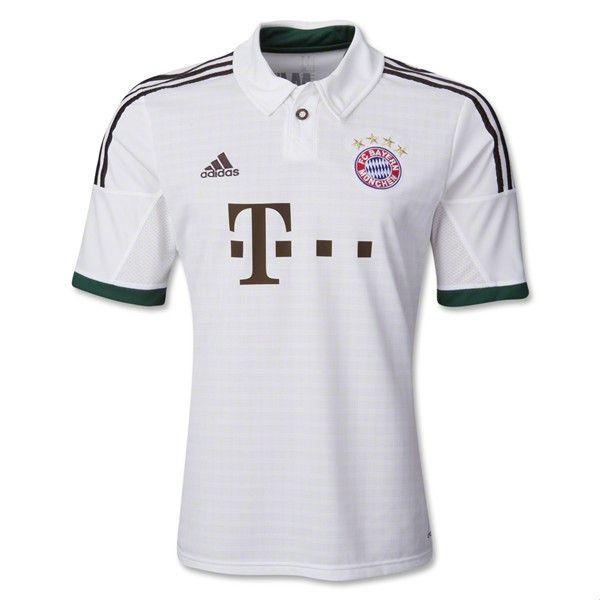 sale retailer 2b246 7f75f Bayern Away Jersey 13/14 | Jerseys | Bayern munich shirt ...