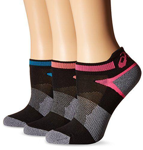 Alternativa dinastía Arábica  ASICS Women's Quick Lyte Cushion Single Tab Running Socks, Black Assorted,  Small,Pack of 3 -- Review more…   Running socks, Active wear for women,  Socks and hosiery