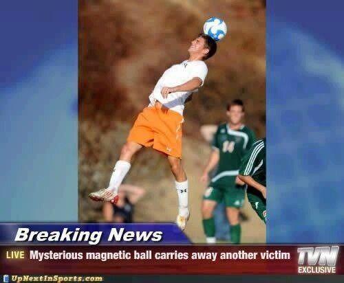 Mysterious football