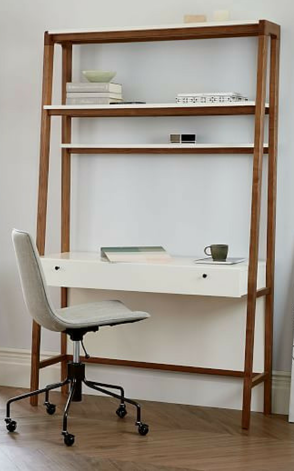 Love this wall desk option for my home office since i dont have an
