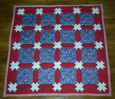 Morning Star Sashing Quilt 3 Patriotic Quilts Star Quilt Patterns Star Quilts