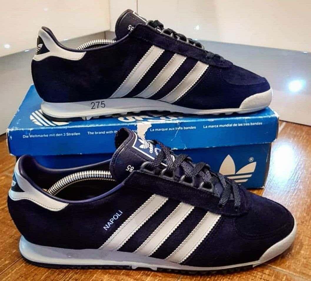 Adidas Napoli from 1985, made in West Germany qualitat