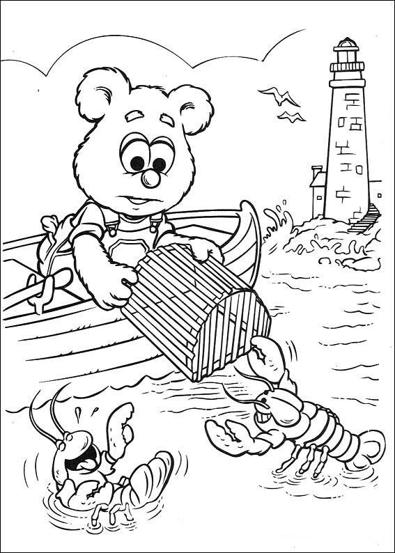 Muppets Fargelegging. Tegninger 42 | Gyerekeknek | Pinterest ...