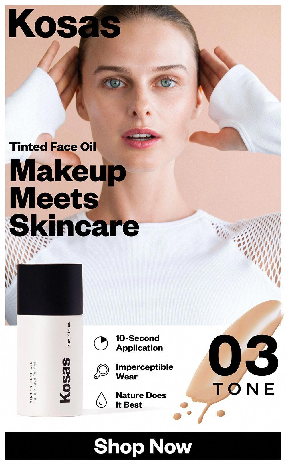 Tinted Face Oil Foundation in 2020 Face oil, Brown spots