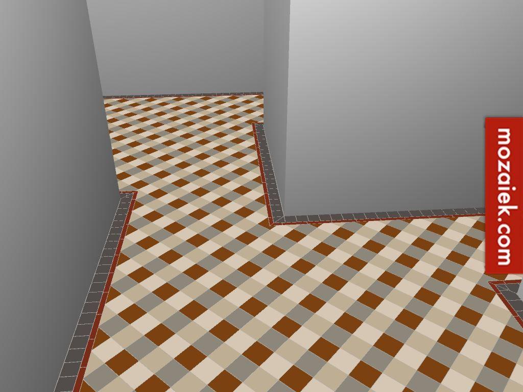 Winckelmans Fliesen mozaiek com utrecht winckelmans vloer met 4 kleuren diagonaal en