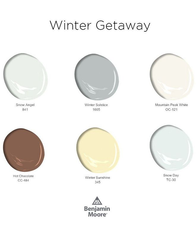 Winter Paint Colors: Benjamin Moore Paint Colors. New Benjamin Moore Paint
