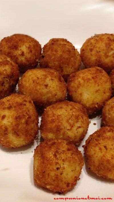 Croquettes riz et mozzarella (avec images) | Croquettes ...
