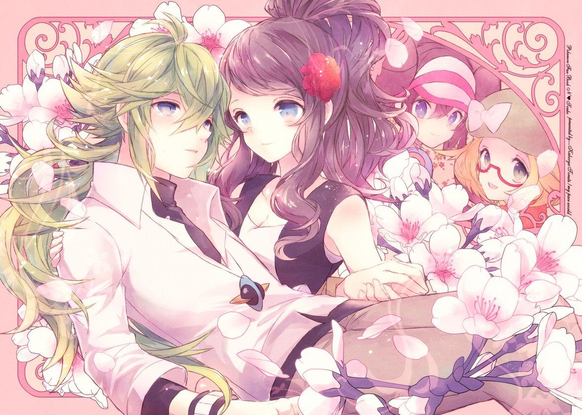 N and touko wedding - N And Touko
