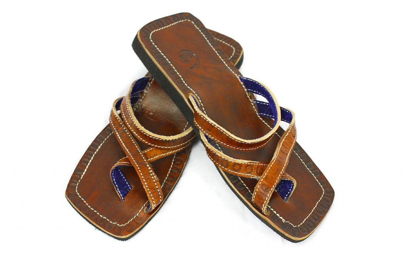 Leather Sandal from Tanzania (Size 40)