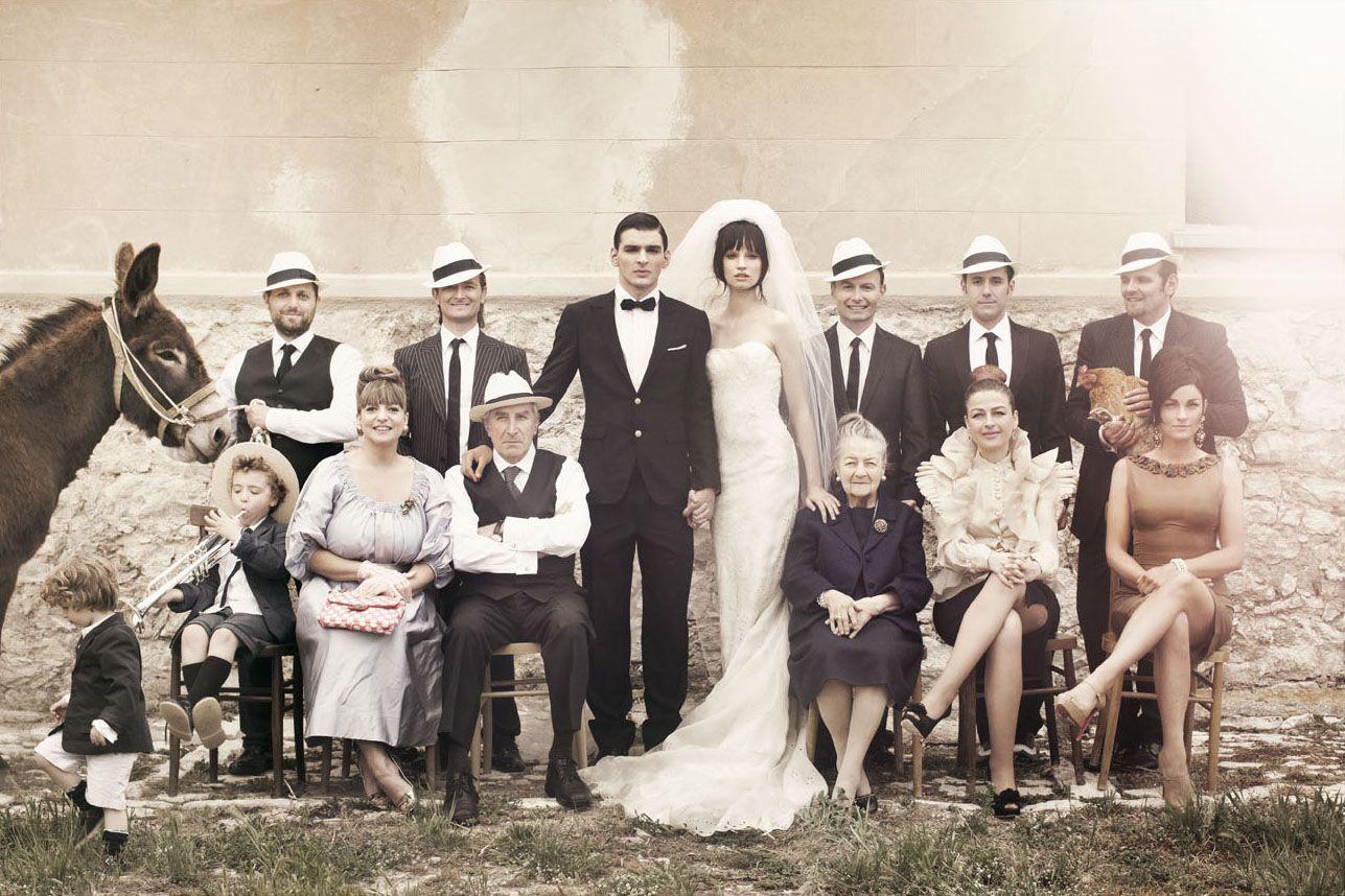 Family Portrait 60s Inspired Romantic Sicilian Wedding Photographer Signe Vilstrup For Vanity Fair Italy Edit Sicilian Wedding Italian Wedding Italy Wedding