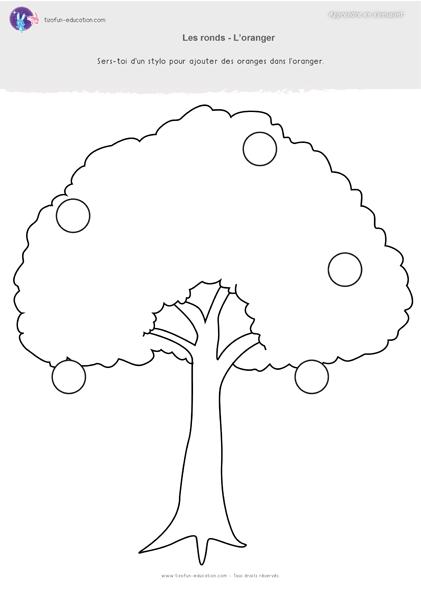 22 pdf fiche maternelle gs graphisme ronds oranger a imprimer graphisme pinterest fiche. Black Bedroom Furniture Sets. Home Design Ideas