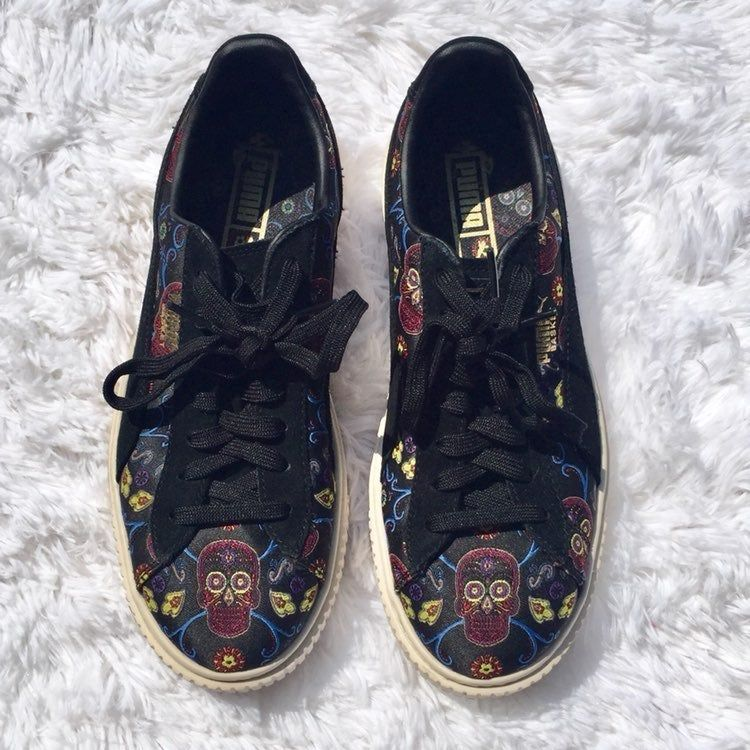 puma basket day of the dead