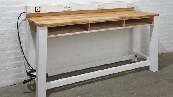 Maßgeschneiderte Werkbank selber bauen Herzstück jeder Werkstatt - küche selber bauen holz