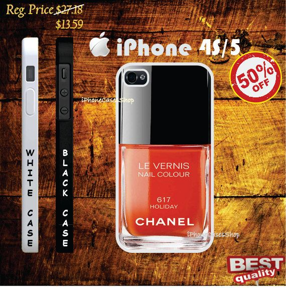 Chanel 617 holiday Nail Chanel Polish iphone 4s case and iphone 5 ...
