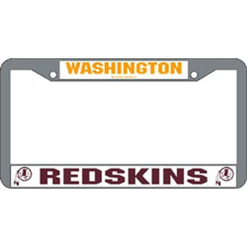 Washington Redskins NFL Chrome License Plate Frame   Products ...