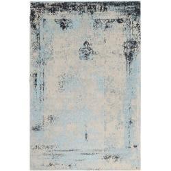 Photo of Handgetufteter Teppich in Blau Bakero
