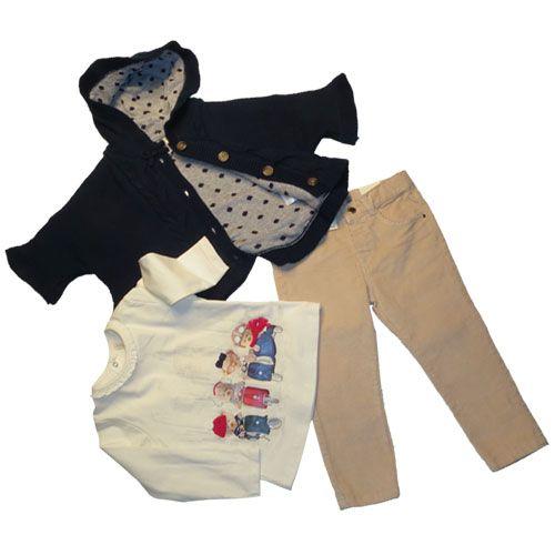 Benetton Bimbi Busto Arsizio.Saldi Abbigliamento Bambini Il Completo Bambina 3 Pezzi