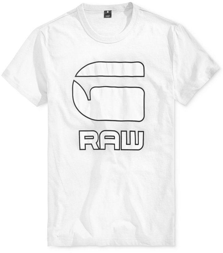 G Star Men's Cadulor Graphic Print Cotton T Shirt | Cotton