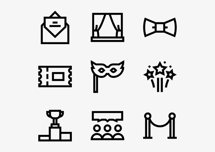 Event 50 Icons Transparent Png Icon Space Icons Art Event