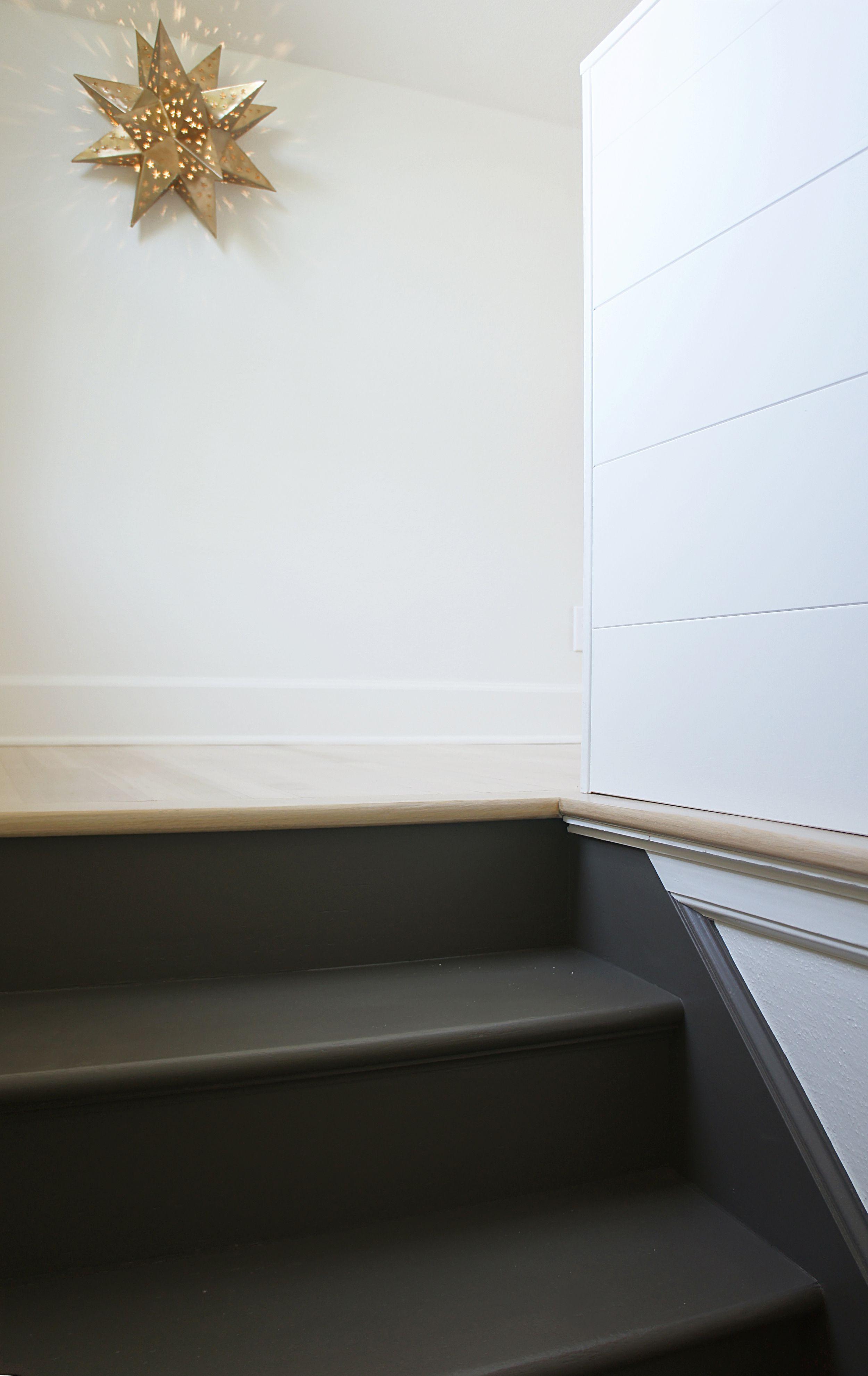 Best Grey Stairs Beech Floor Gray Stairs Basement 400 x 300